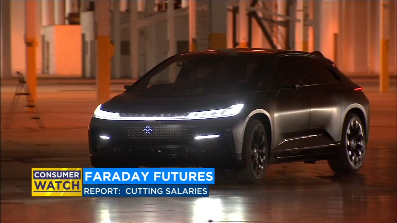 Faraday Future to cut salaries and lay-off employees