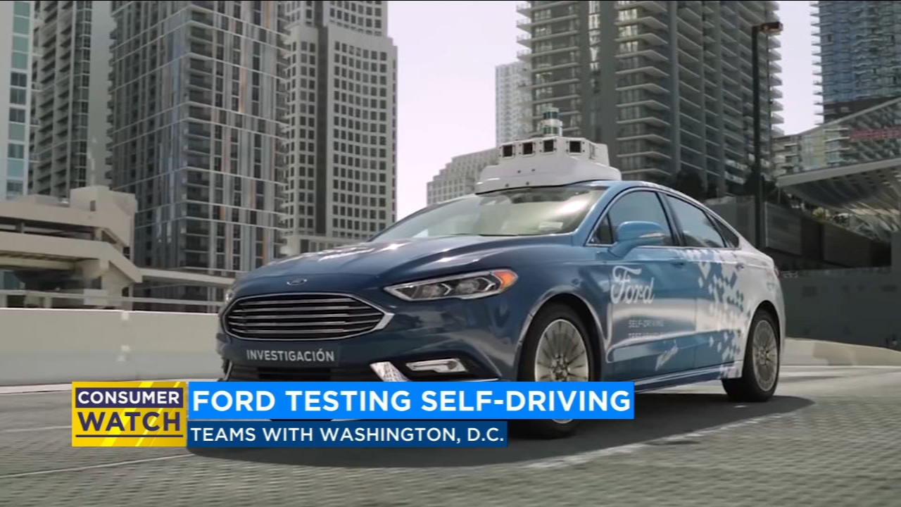 Ford to test self-driving cars in Washington D.C.