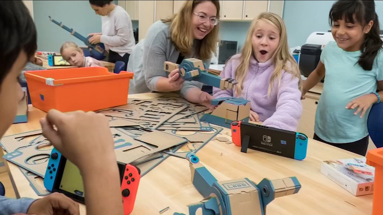 Nintendo is going from the living room to the classroom.