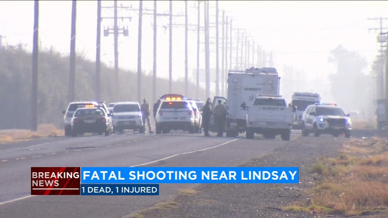 Fatal shooting near Lindsay