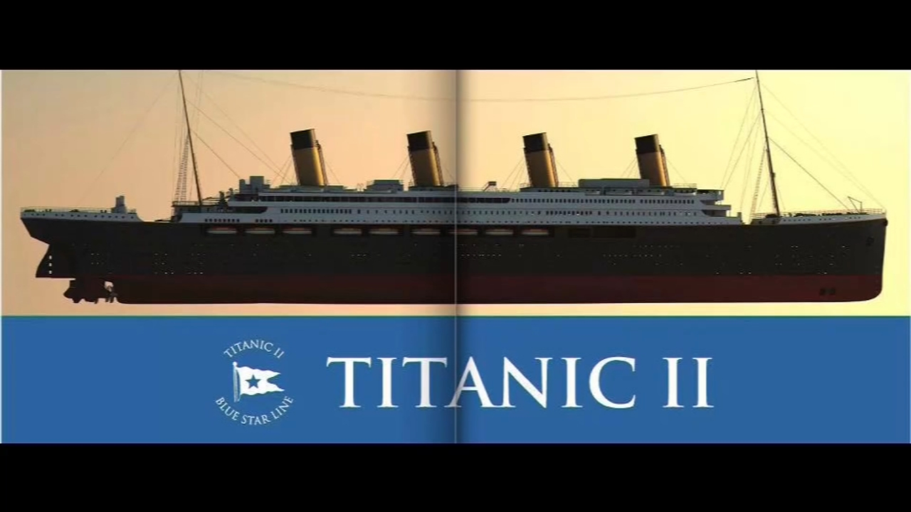 Titanic II to launch in 2022