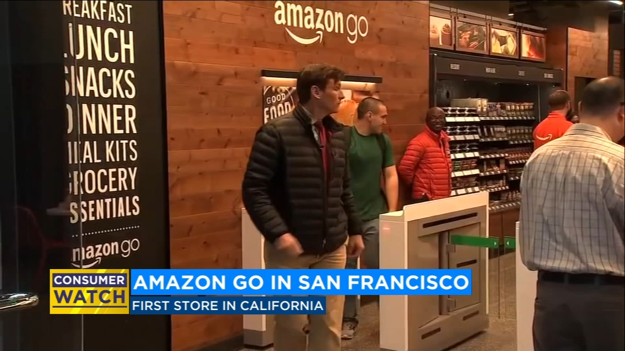 'Amazon Go' opens in San Francisco