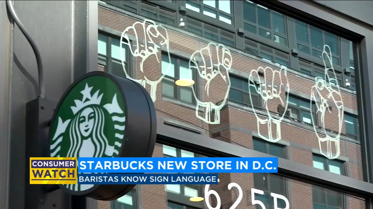 Starbucks opens first store with all employees fluent in American Sign Language