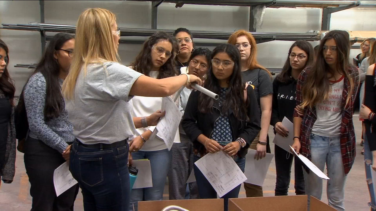 Edison High School students take part in Women in Manufacturing Day