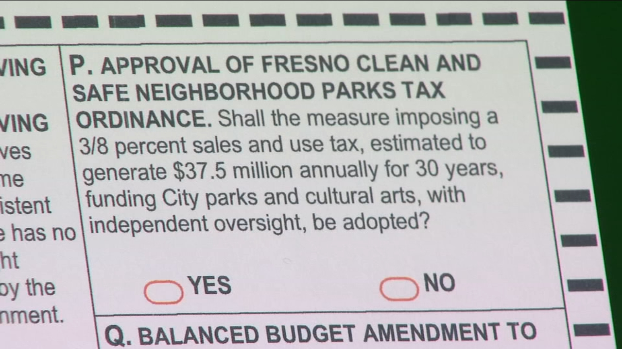 Corrected ballot message for Measure P in the mail