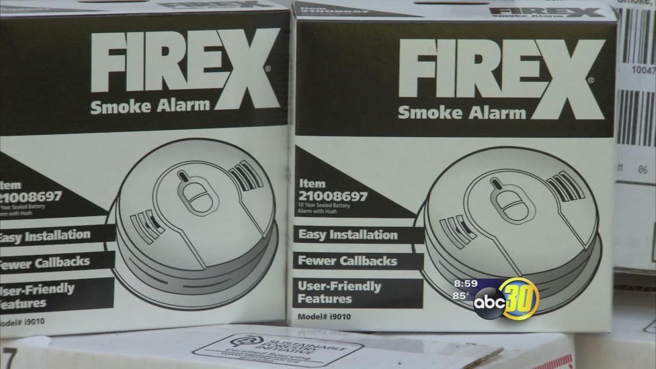 Red Cross hands out free smoke alarms in Fresno