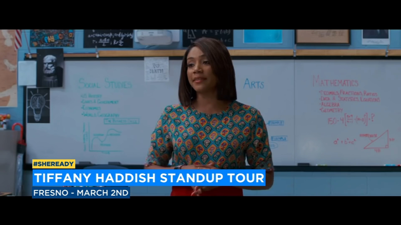 Tiffany Haddish to bring comedy tour #SheReady to Fresno in March
