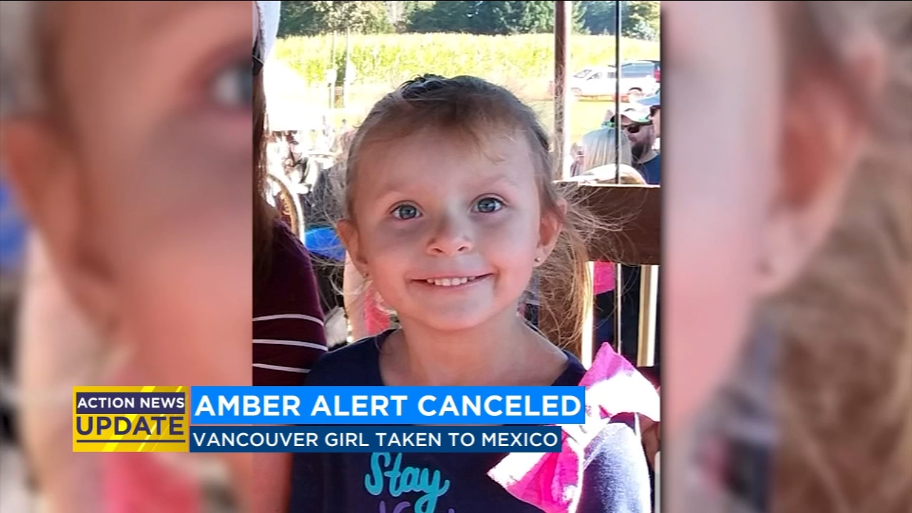 Statewide Amber Alert canceled, police believe mother has taken child to Mexico