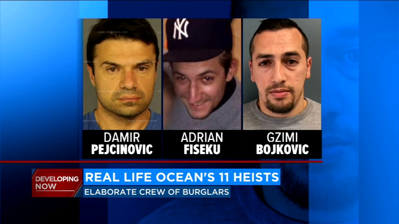 Real-life 'Ocean's Eleven' crew pulls off $10 million burglary heists