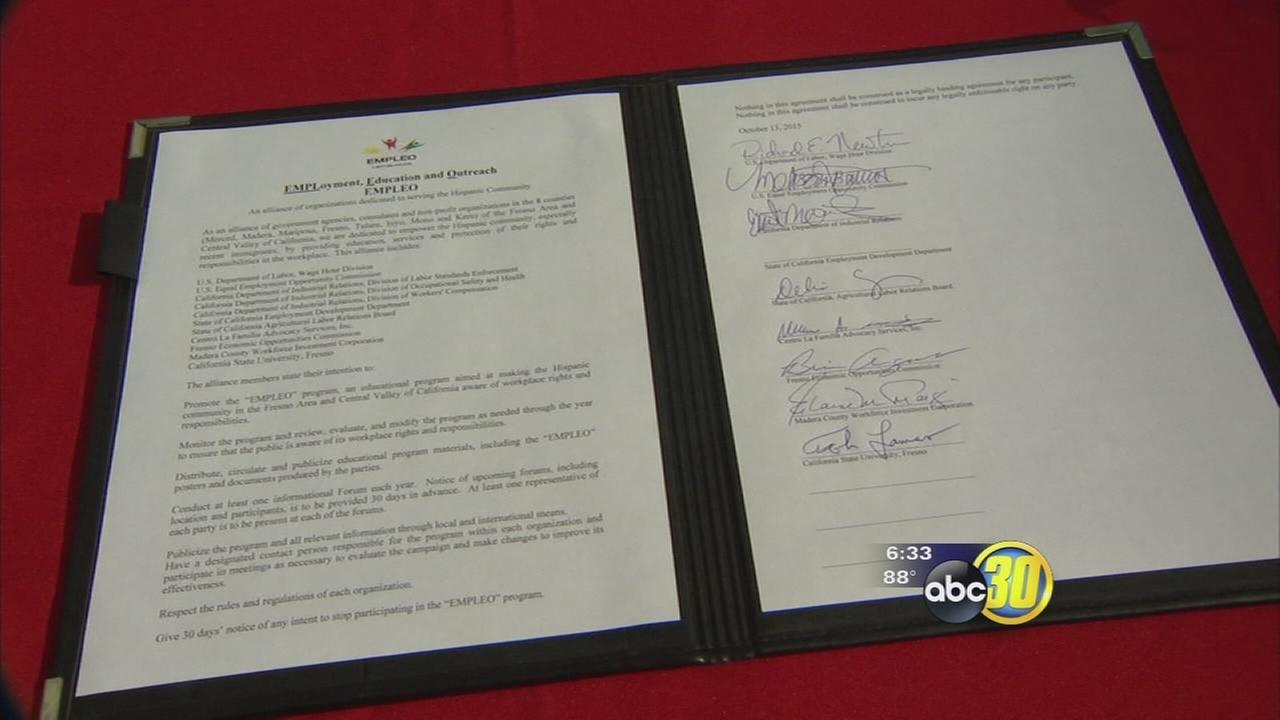 New federal workers rights program arrives in Fresno