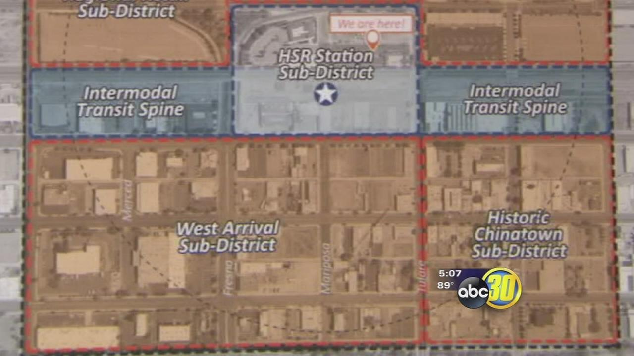Fresno officials get ready for downtown High Speed Rail station