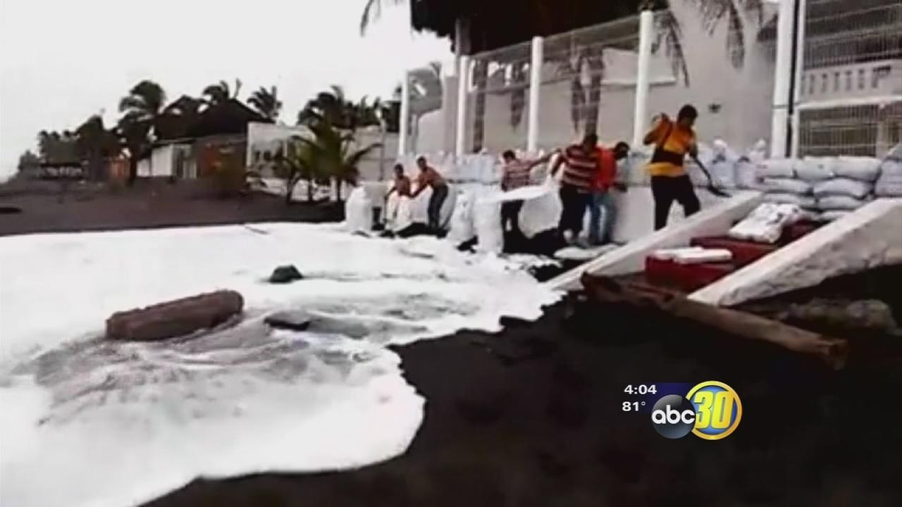 Hurricane Patricia strands valley locals