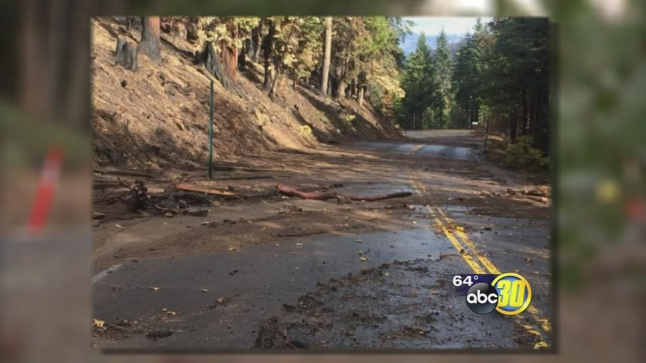 Rough Fire damage poses threat of mudslides