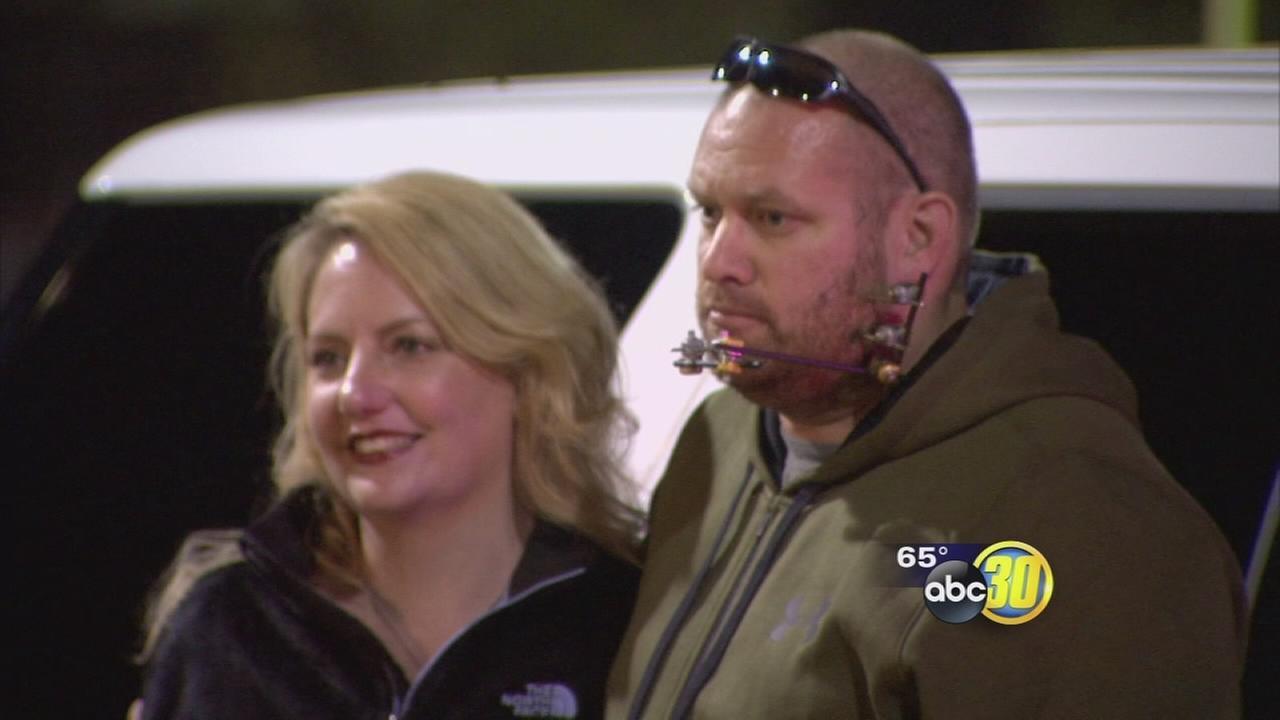 Deputy Shot In Line Of Duty Makes Public Appearance At Mariposa