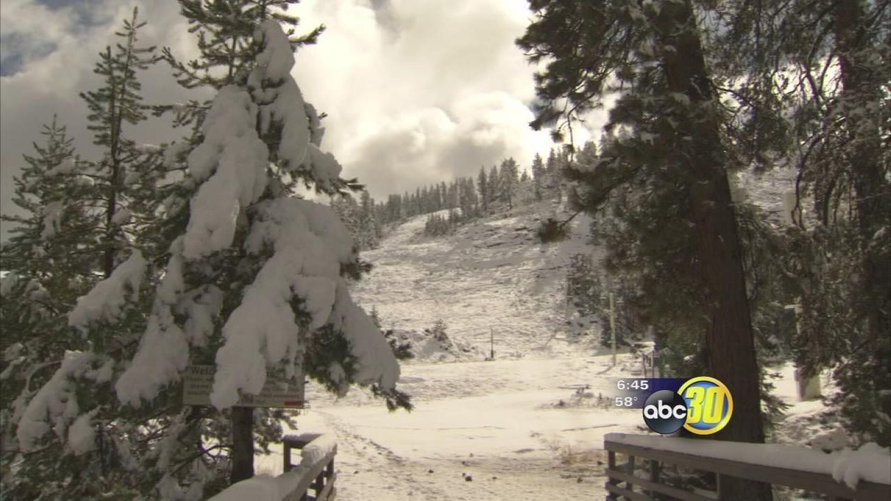 China Peak officials hoping to open the slopes early