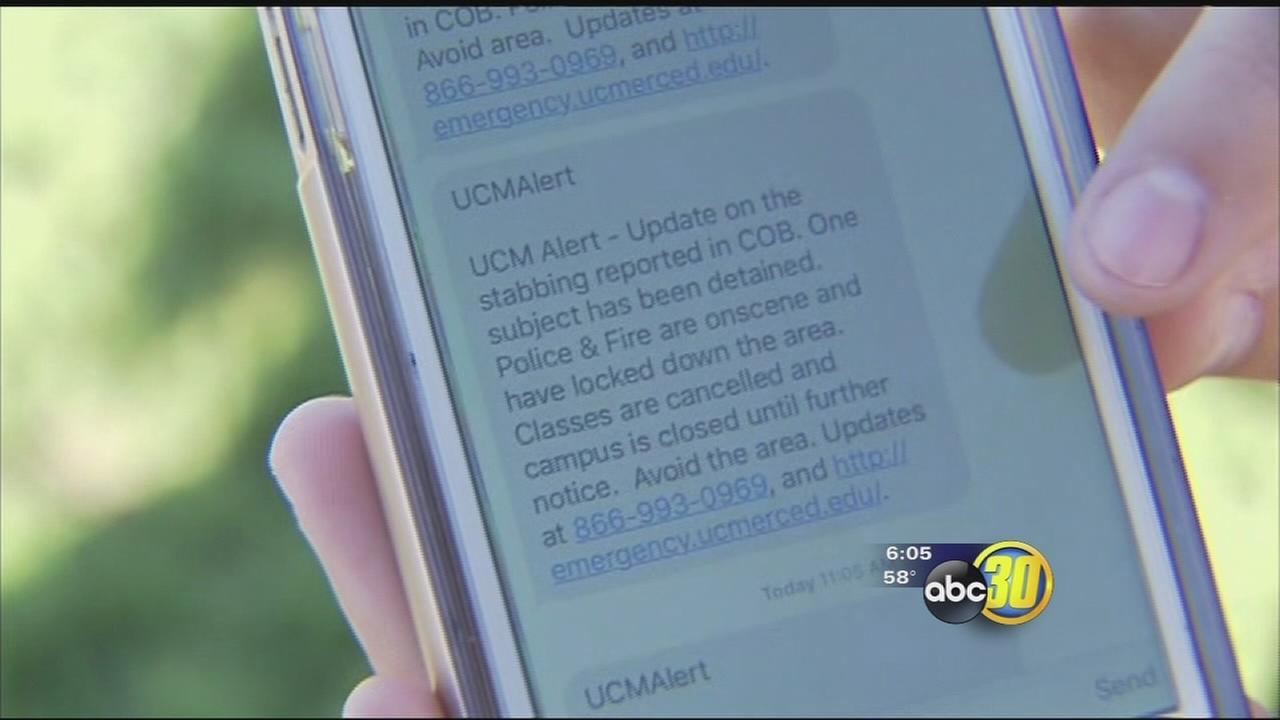 UCM alert system helped students stay safe