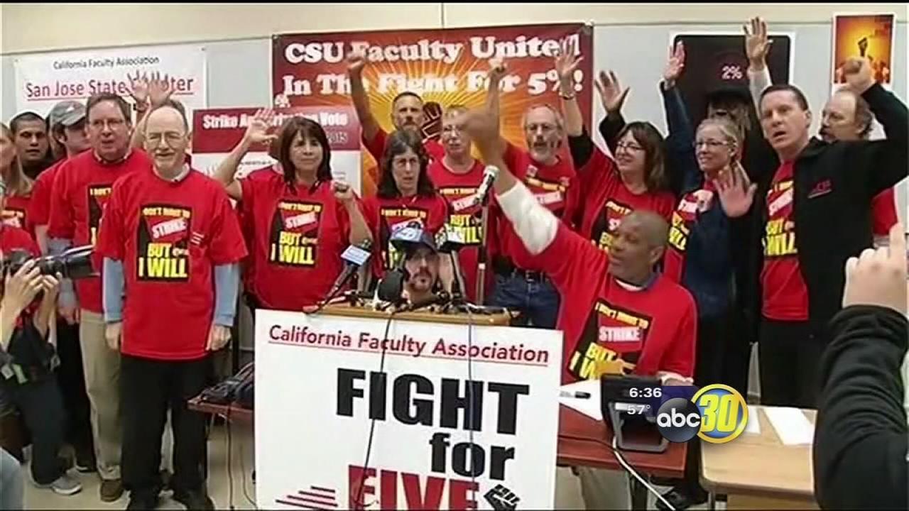 CSU professors prepared to strike