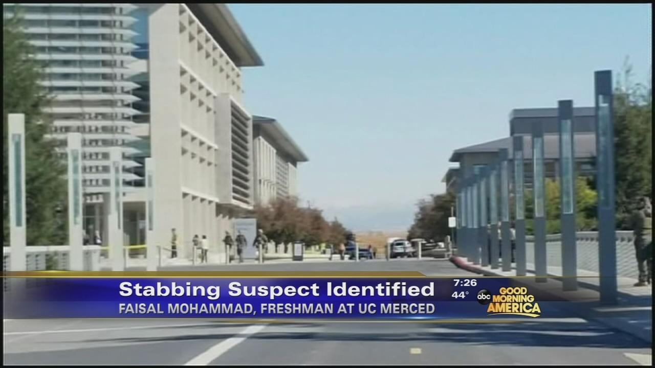 UC Merced stabbing suspect identified