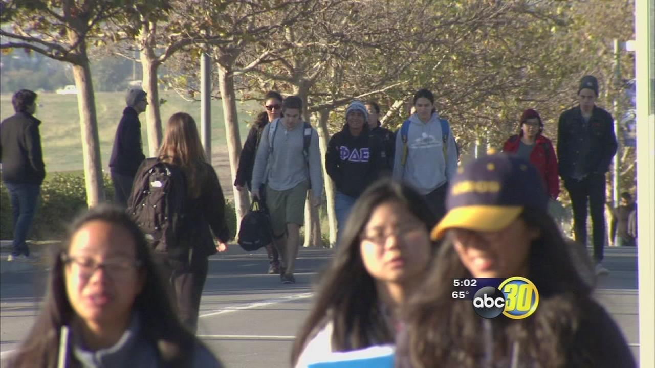 UC Merced students back in class following stabbing attack