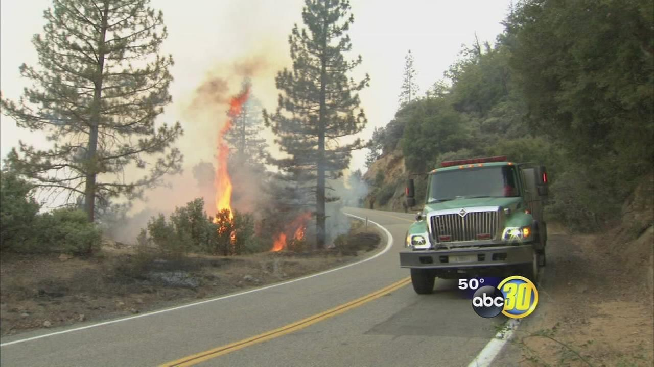 Rough Fire now 100 percent contained