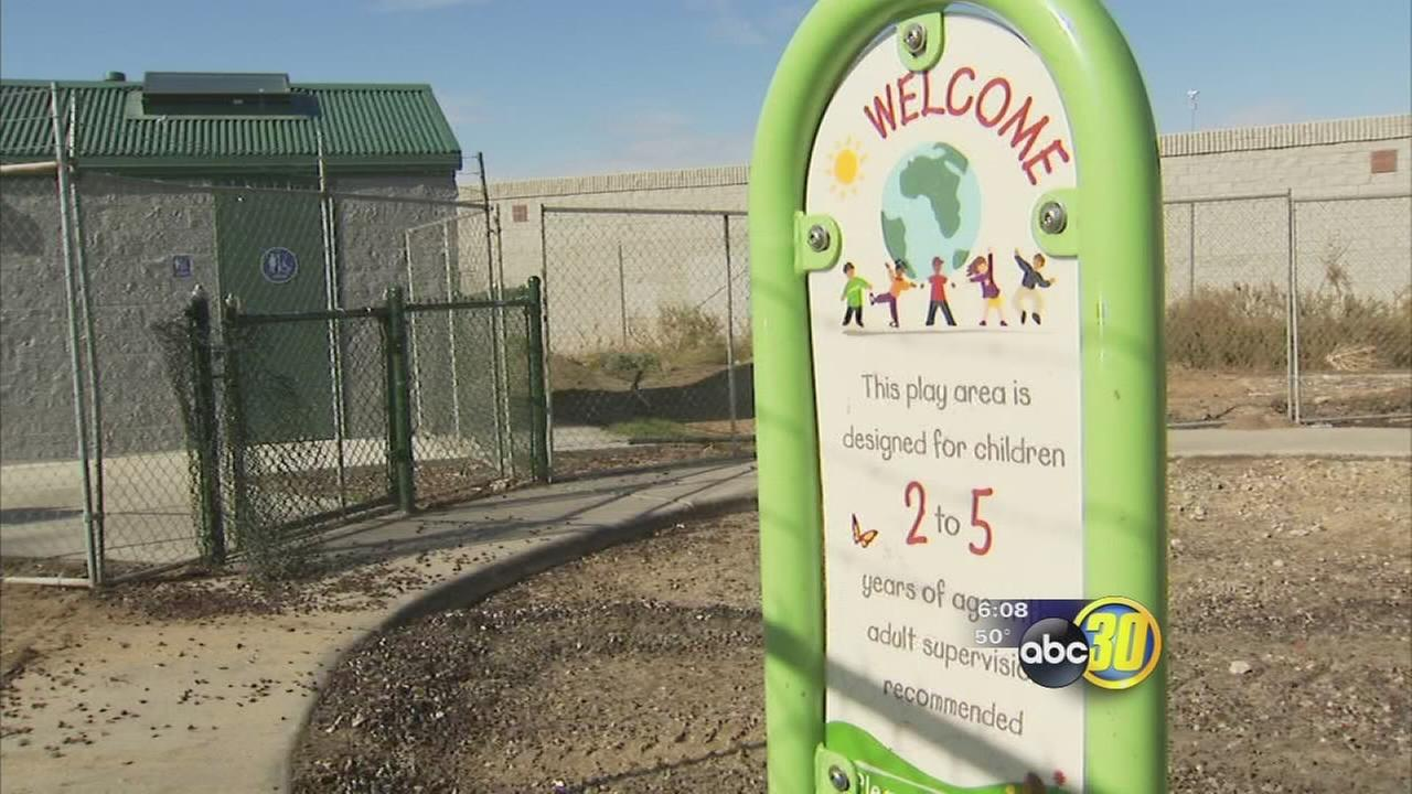Romains burned playground to be replaced