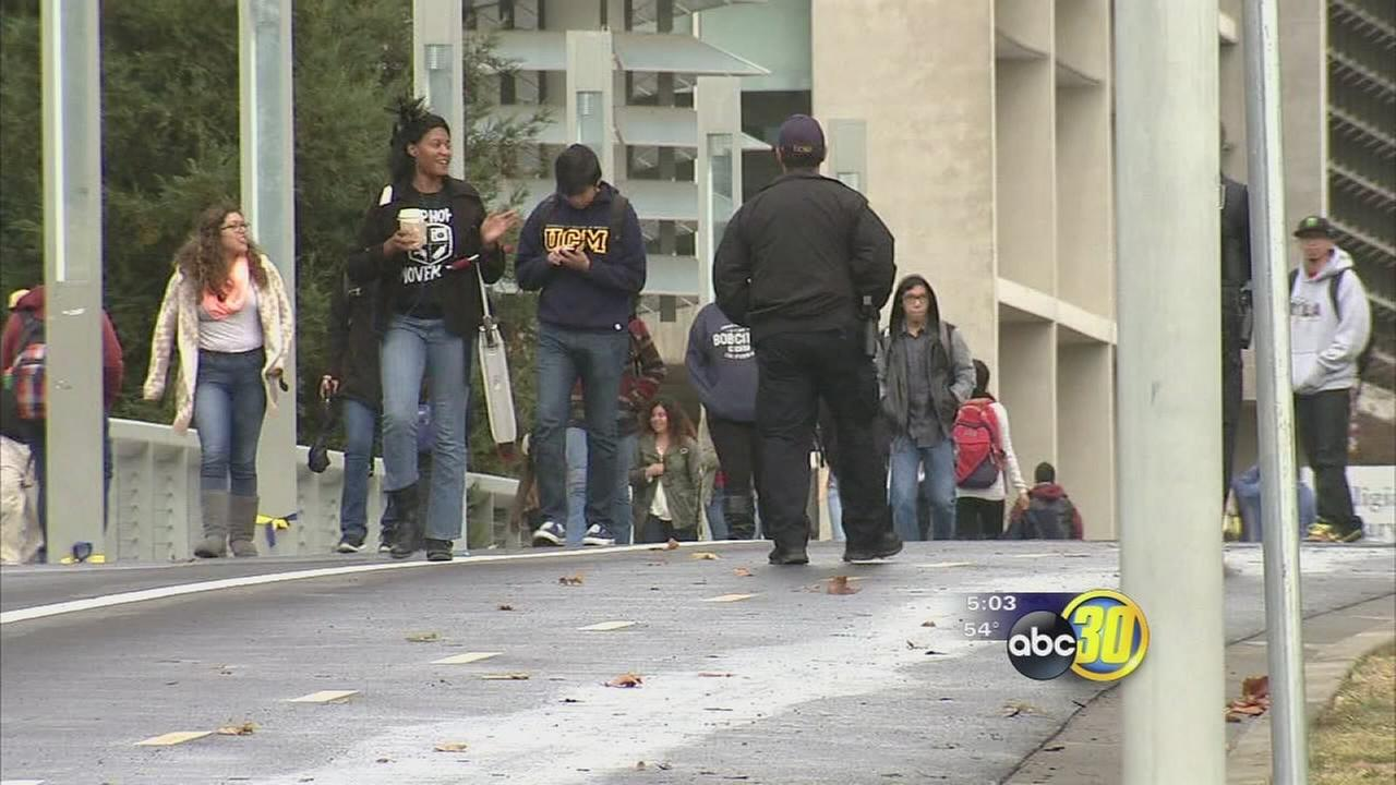 UC Merced students are trying to return to normal