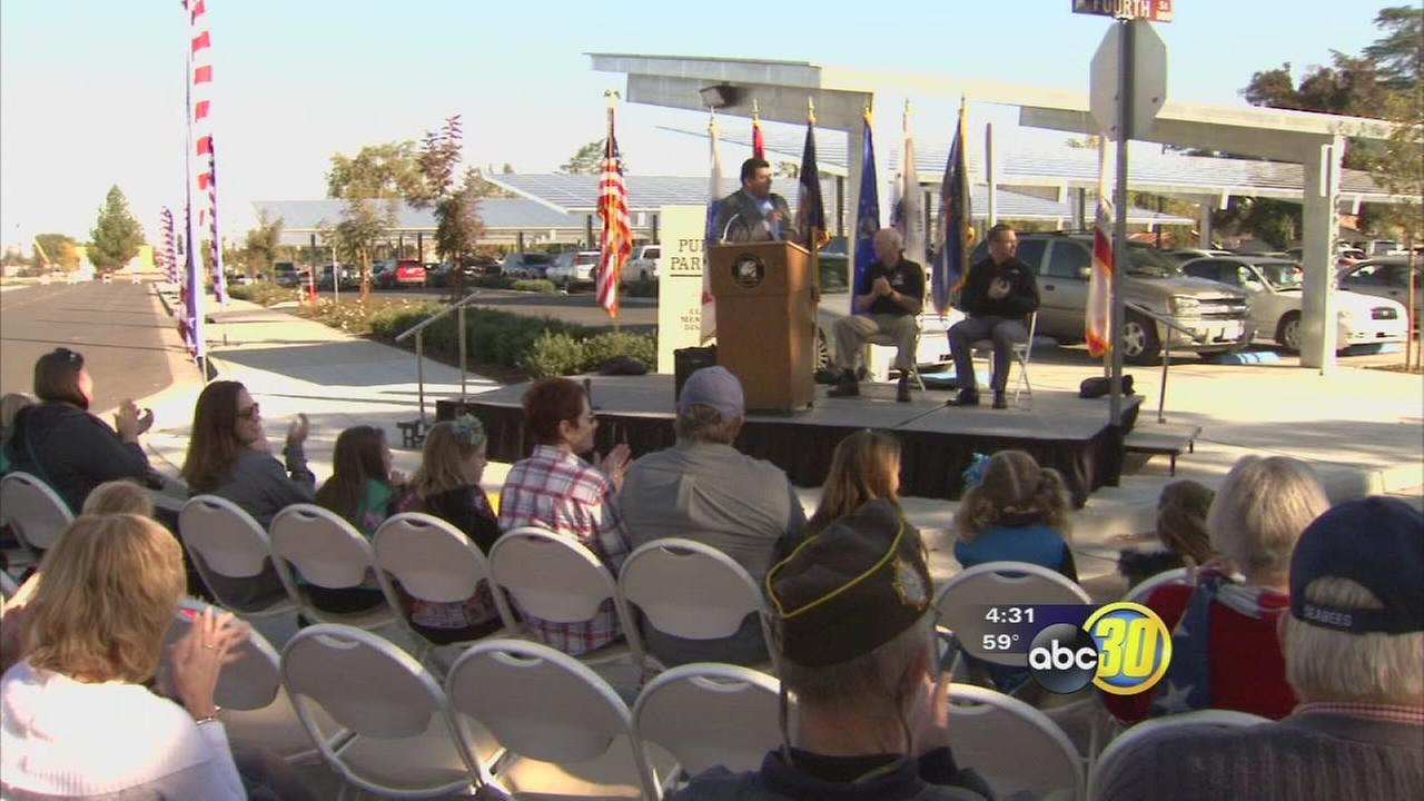 Clovis honors local veterans