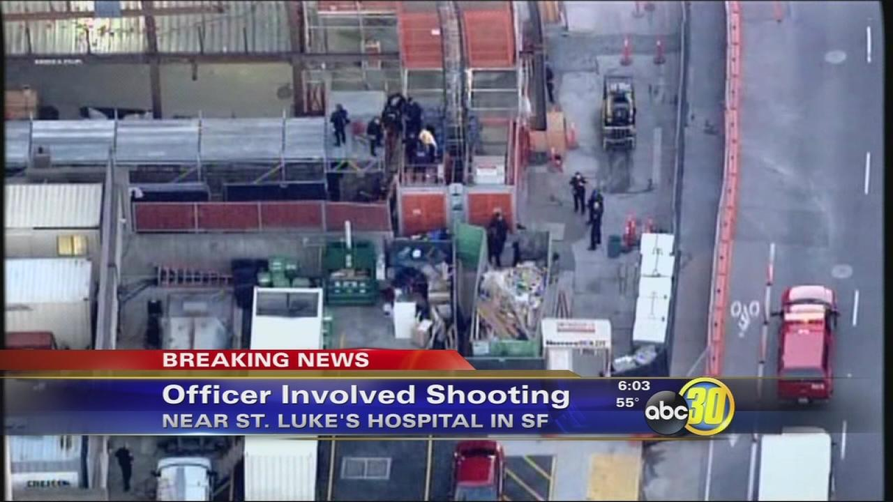 Officer involved shooting near hospital in San Francisco