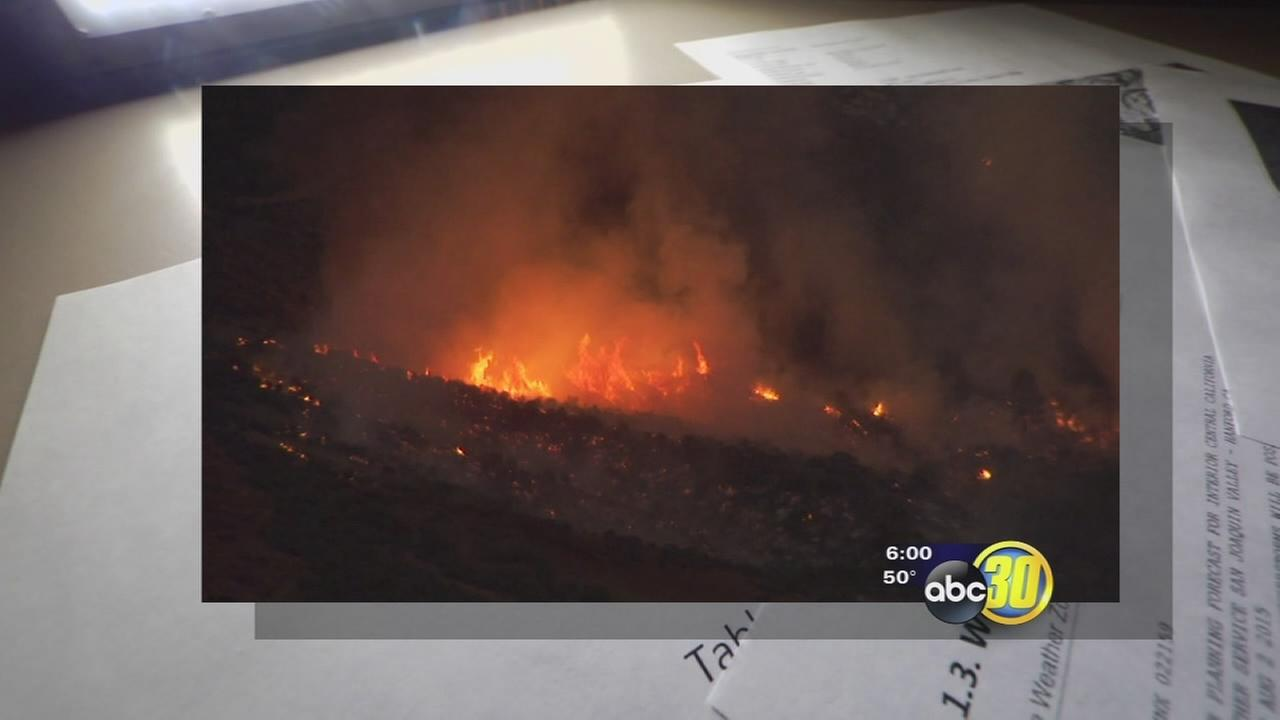 Rough Fire burned through fire fighters strategies before it was contained