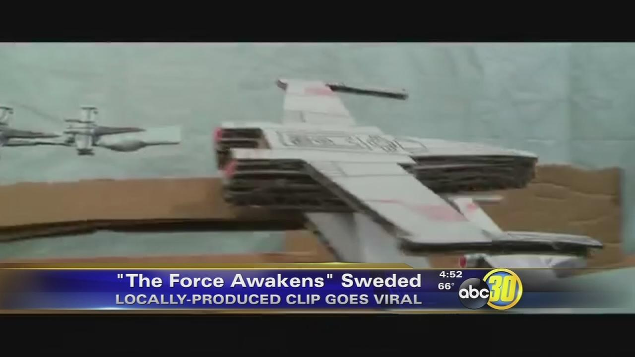 Fresno Swede Gets National Attention from Star Wars actor