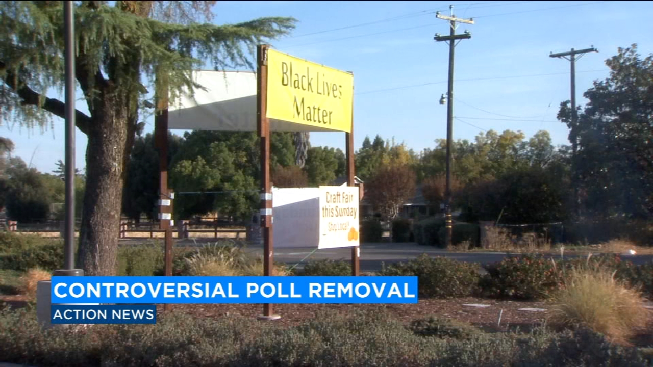 A Fresno Reverend is upset that his church can no longer be a polling center on election day because of their Black Lives Matter sign.