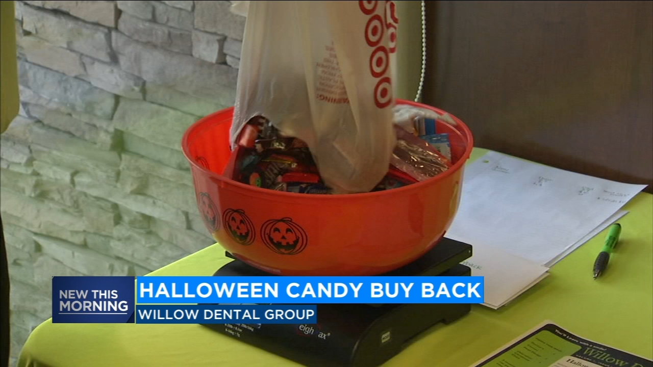 Got too much Halloween candy? This dentist group buys it back, sends to military troops, first responders
