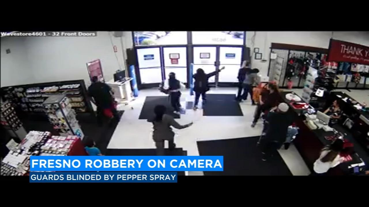 3 women caught on camera robbing Burlington store in North Fresno