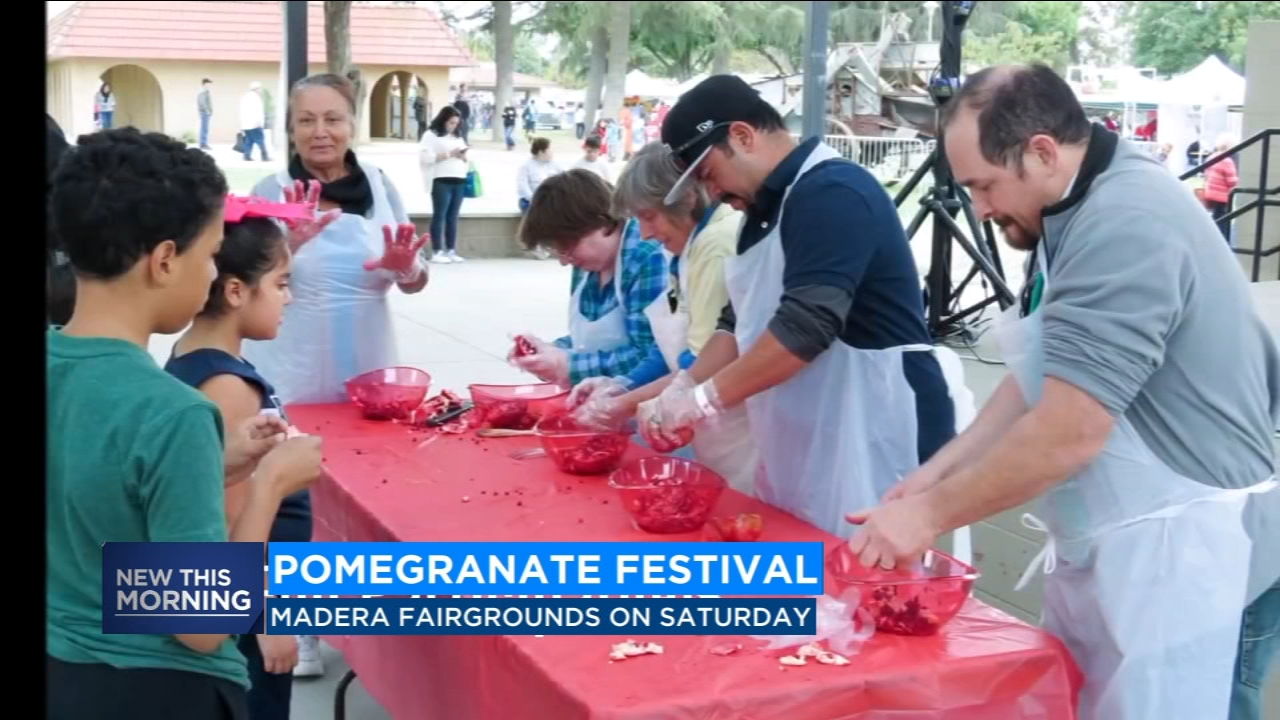 Madera Pomegranate Festival kicks off tomorrow