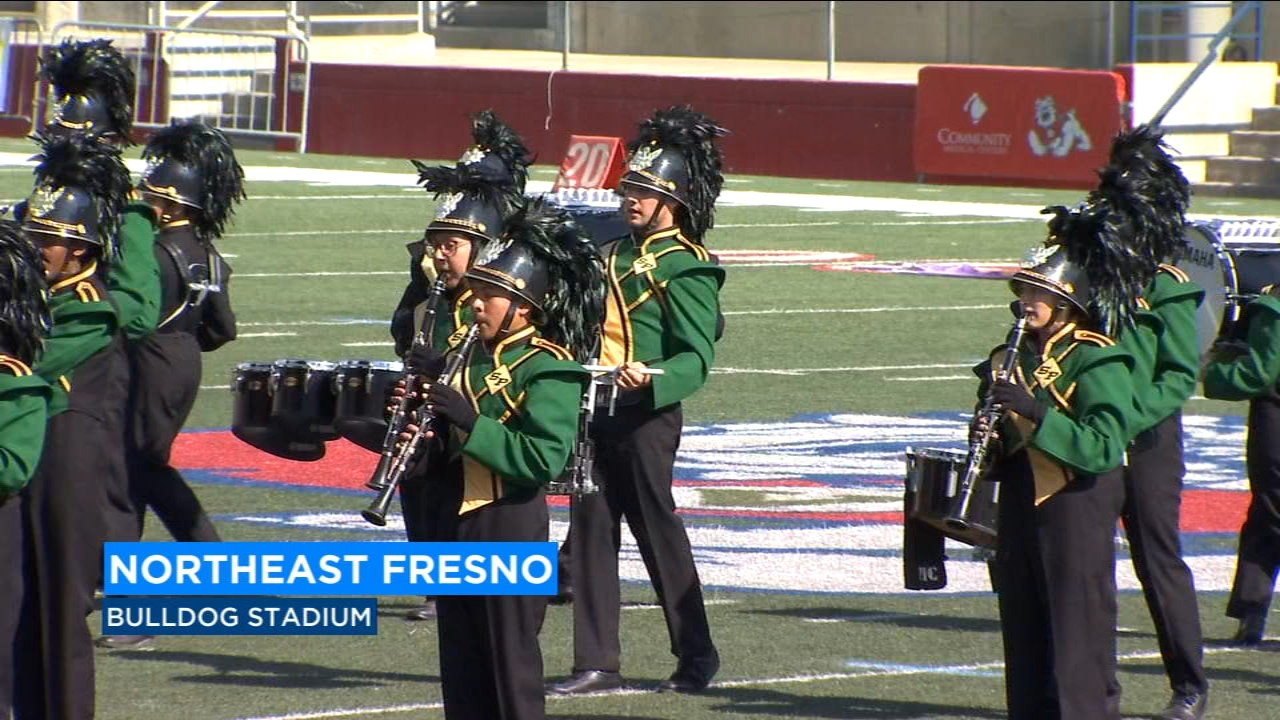 The Sierra Cup Classic was an all-day event going on all day with 26 high school bands competing.