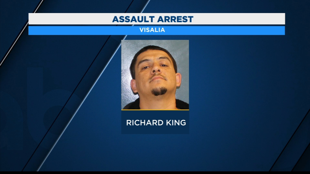 Visalia man arrested after hitting girlfriend with milk crate