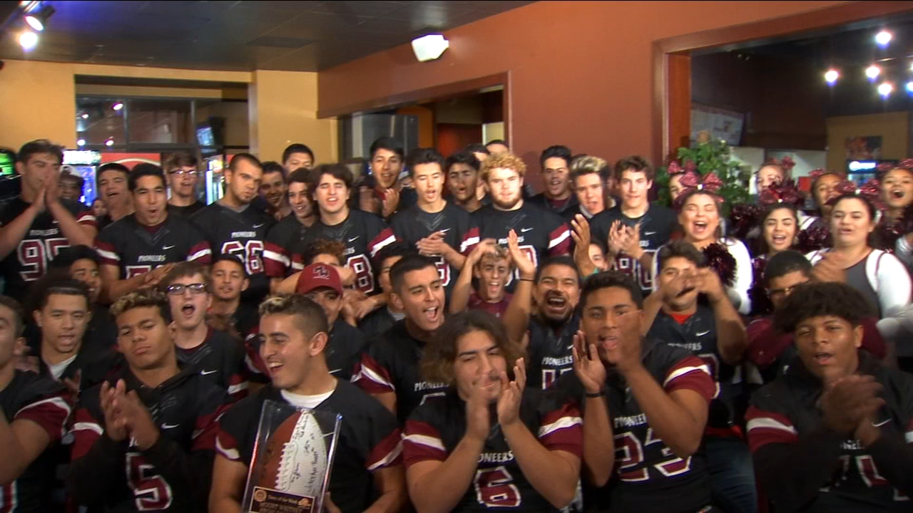 Lets meet our Me-n-Eds team of the week--the Mount Whitney Pioneers.