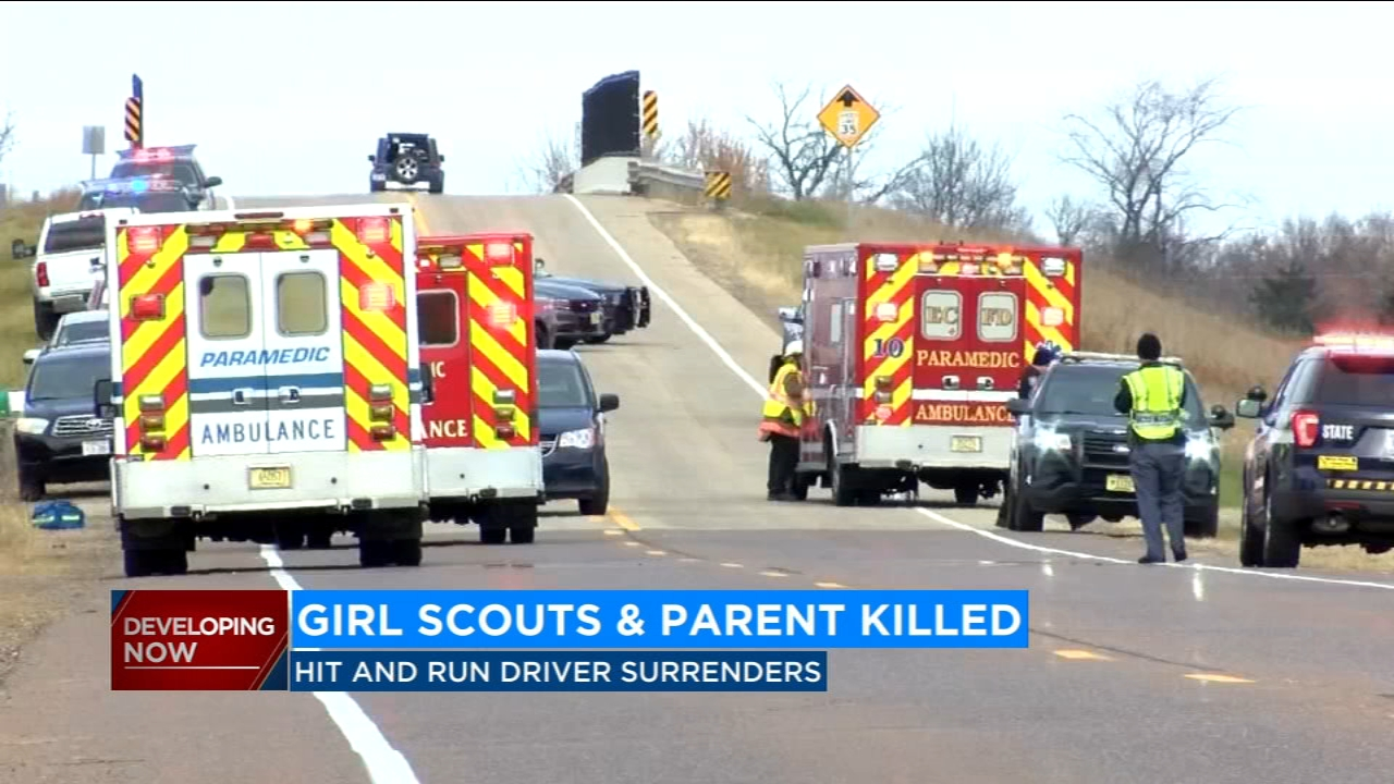 3 Girl Scouts, 1 parent killed in hit-and-run in Wisconsin