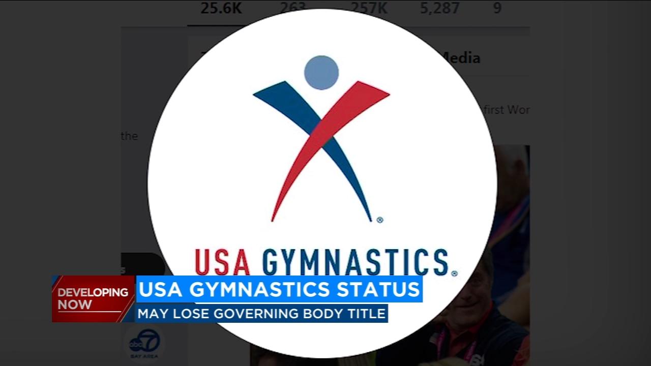 U.S. Olympic Committee revokes USA Gymnastics status