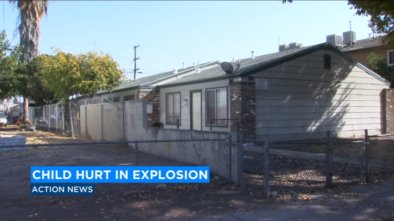 Fresno Police are investigating a case where a man seriously injured his child in a drug-making explosion.