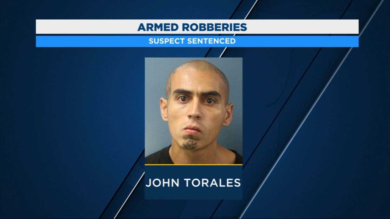 Man behind 2015 armed robberies in Tulare, Fresno Counties sentenced