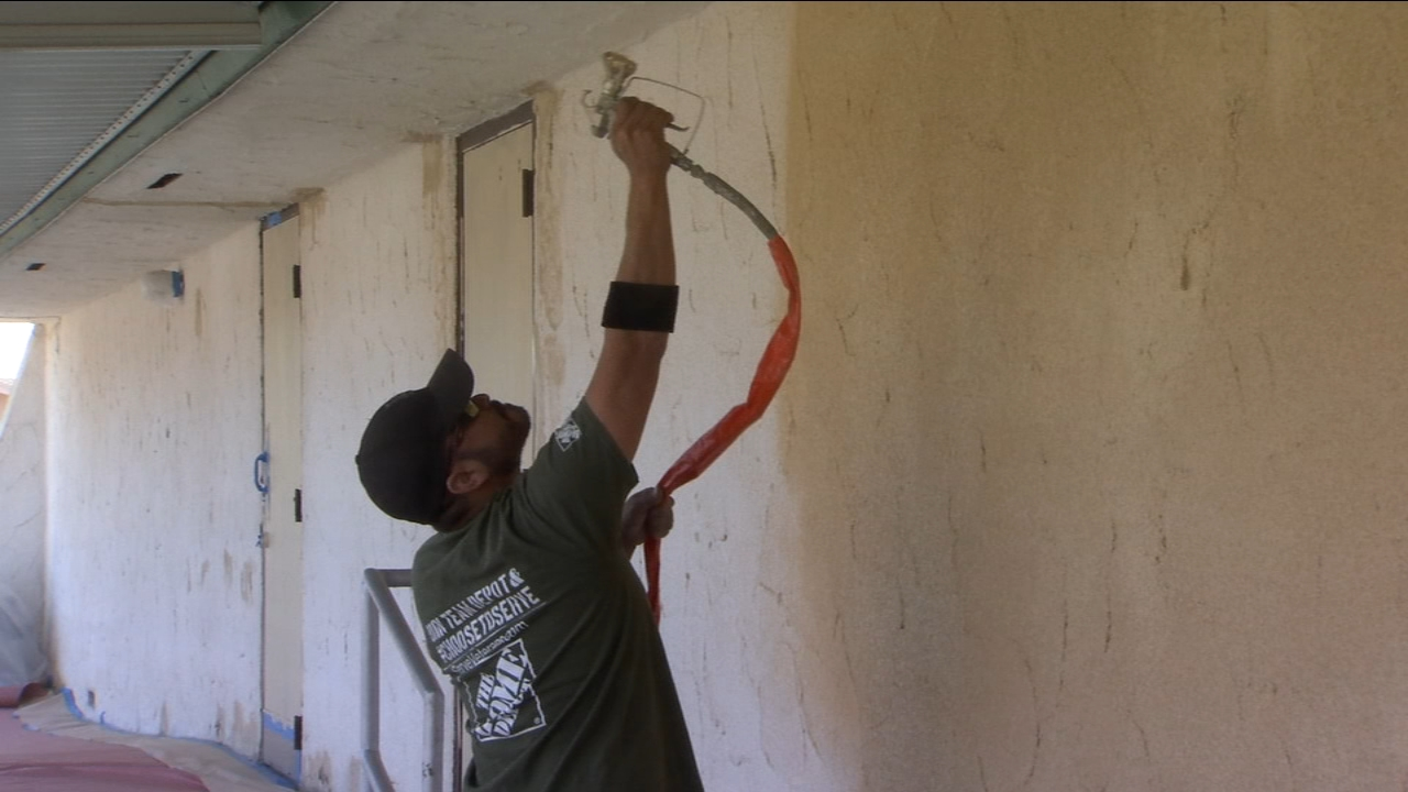 VFW Post 8900 in West Central Fresno is getting a makeover just in time for Veterans Day.