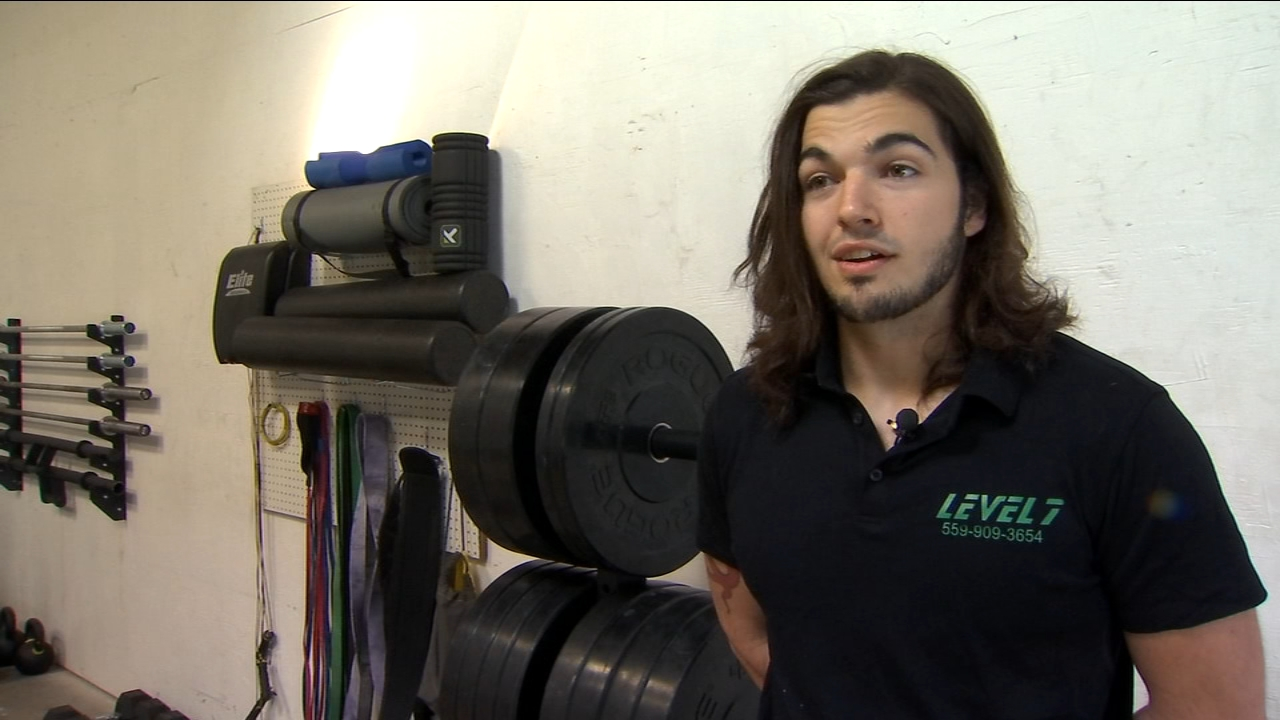 Vincent Houle invited people to put on their workout out gear and pay $10 to raise money for the Wounded Warrior Project.