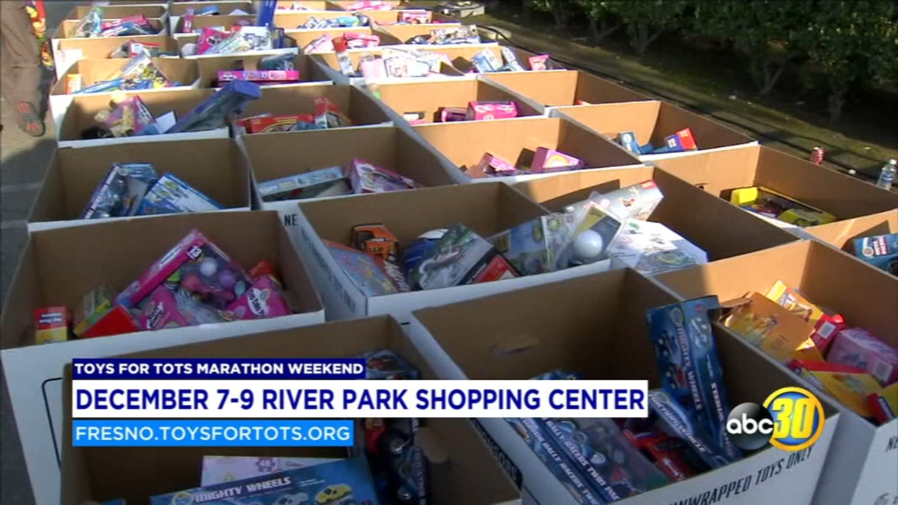 The Fresno Marine Corps League needs your help to collect 50,000 toys before Christmas.