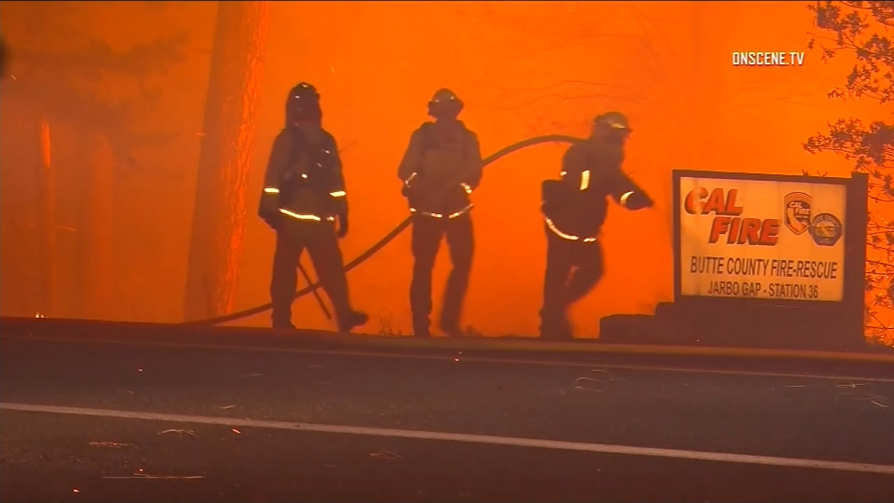 Several local strike teams are fighting the Camp Fire, and for last few days, theyve been focusing on structure protection and building containment lines to stop the spread.