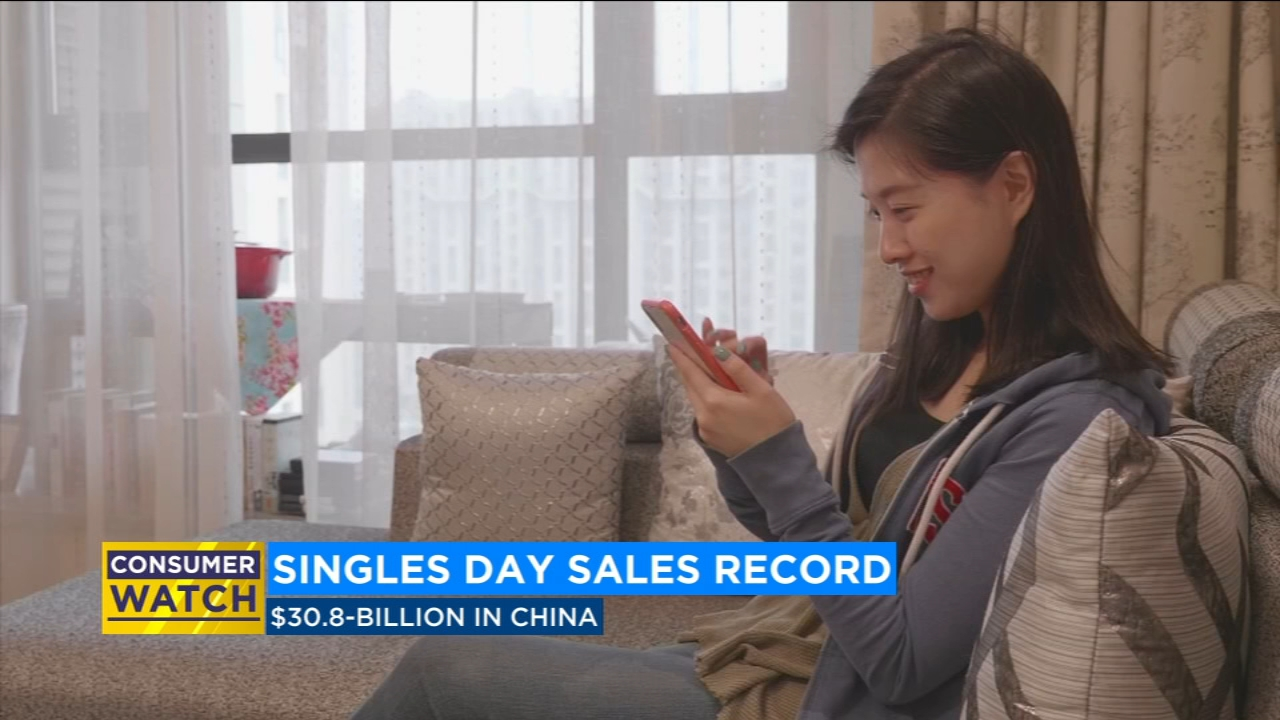 'Singles Day' sets sales record in China
