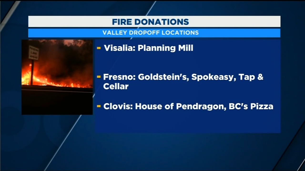 Starting Tuesday night, House Of Pendragons Clovis tasting room will start taking in donations for those affected by the Camp Fire.