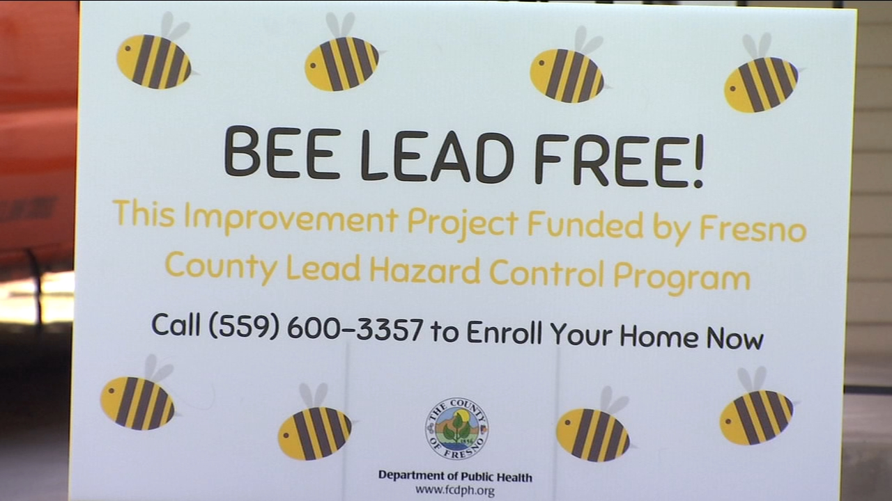 New grant to help remove lead based paints from Fresno County homes.