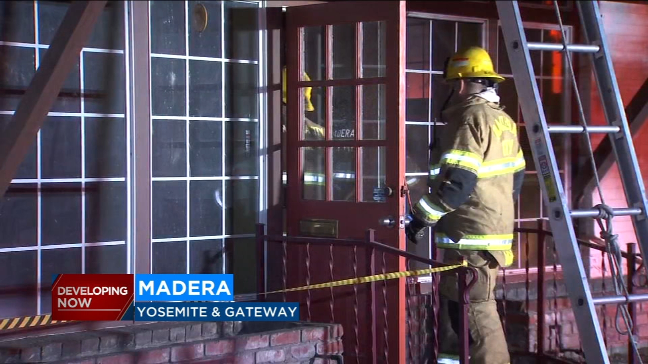 Two suspicious fires that broke out overnight just two blocks away from each other are being investigated as possible arson, fire crews said on Wednesday morning.