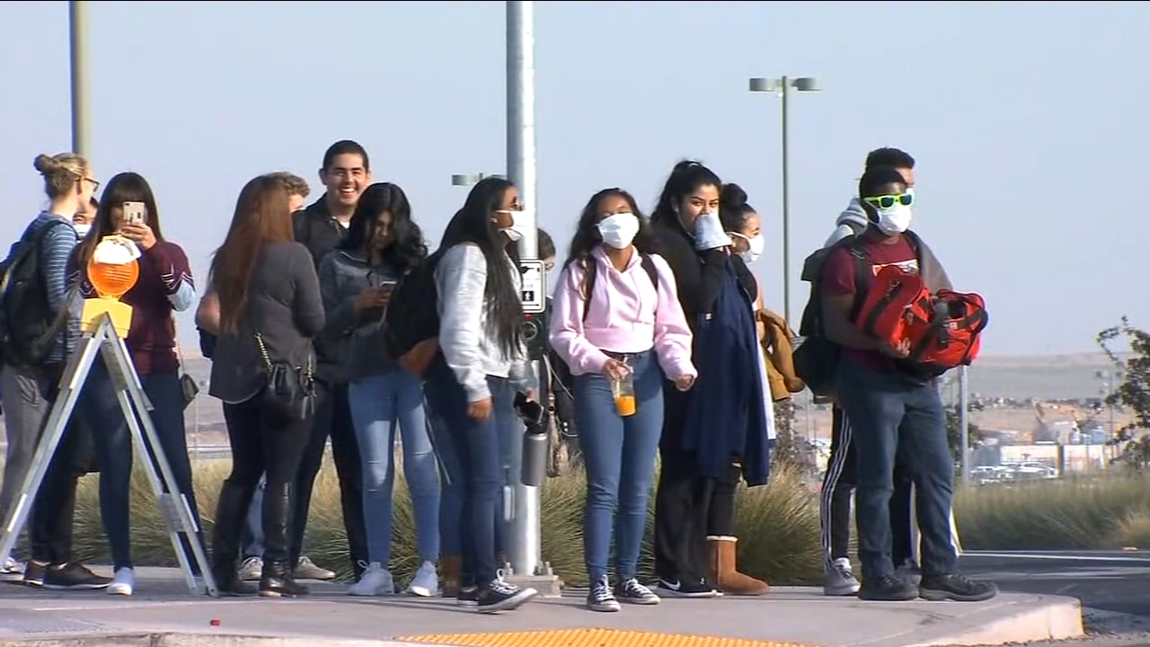 Authorities at UC Merced canceled classes early Thursday to protect students as smoke from the devastating Camp Fire continued to make the air dangerous to breathe.